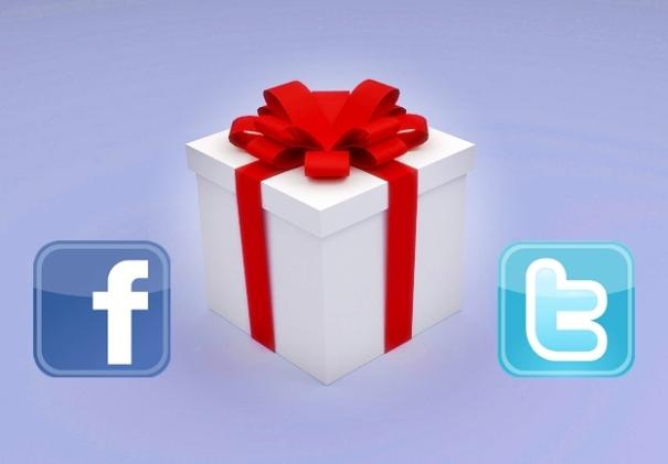 concurso-sorteo en Facebook y Twitter