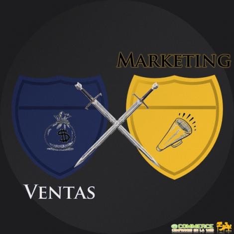 ventas vs marketing