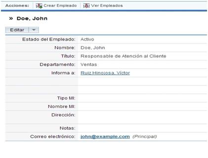 Ficha de John Doe